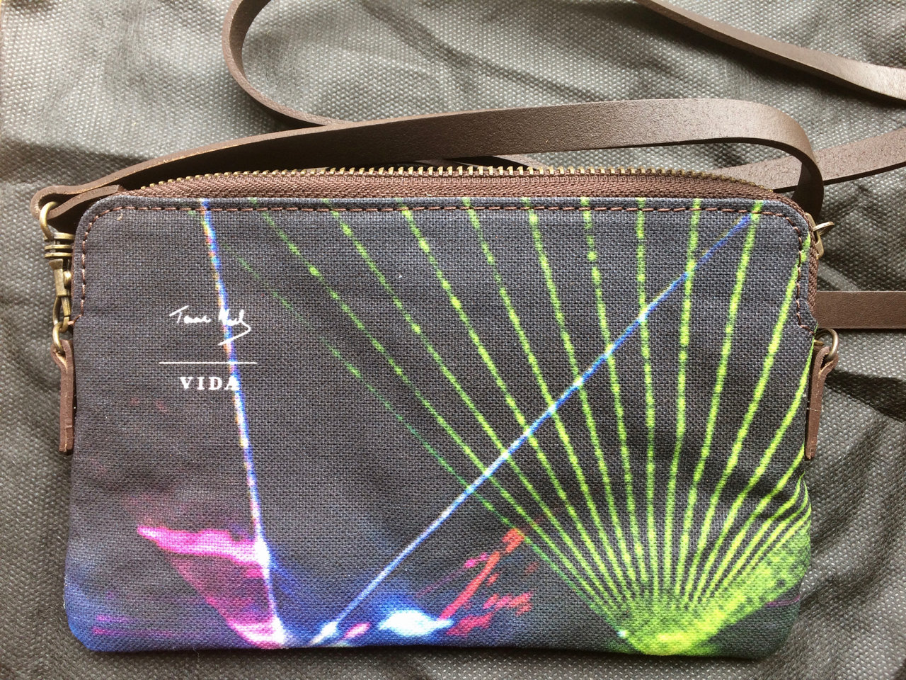 Disco Tech - clutch bag