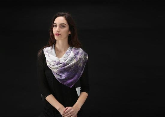 Custom made modal scarves 00008