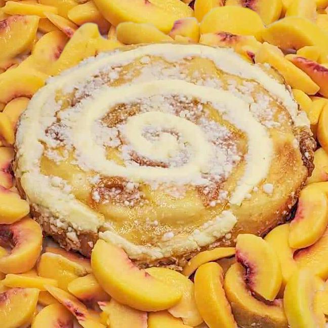 Peach Cakes - Dave's Coffee Cakes - Everyone Loves Cake!