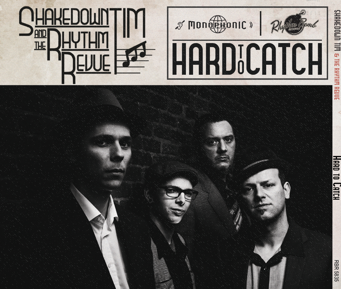 "CD: SHAKEDOWN TIM & THE RHYTHM REVUE:  ""HARD TO CATCH"" (2016)"