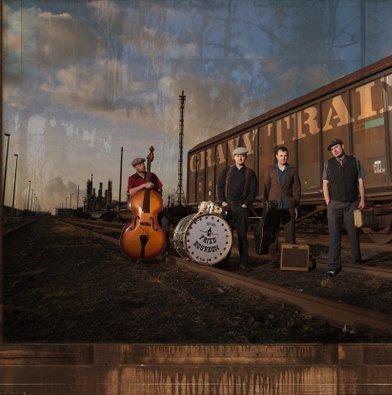 CD: FRIED BOURBON - GRAVY TRAIN (2012) 1