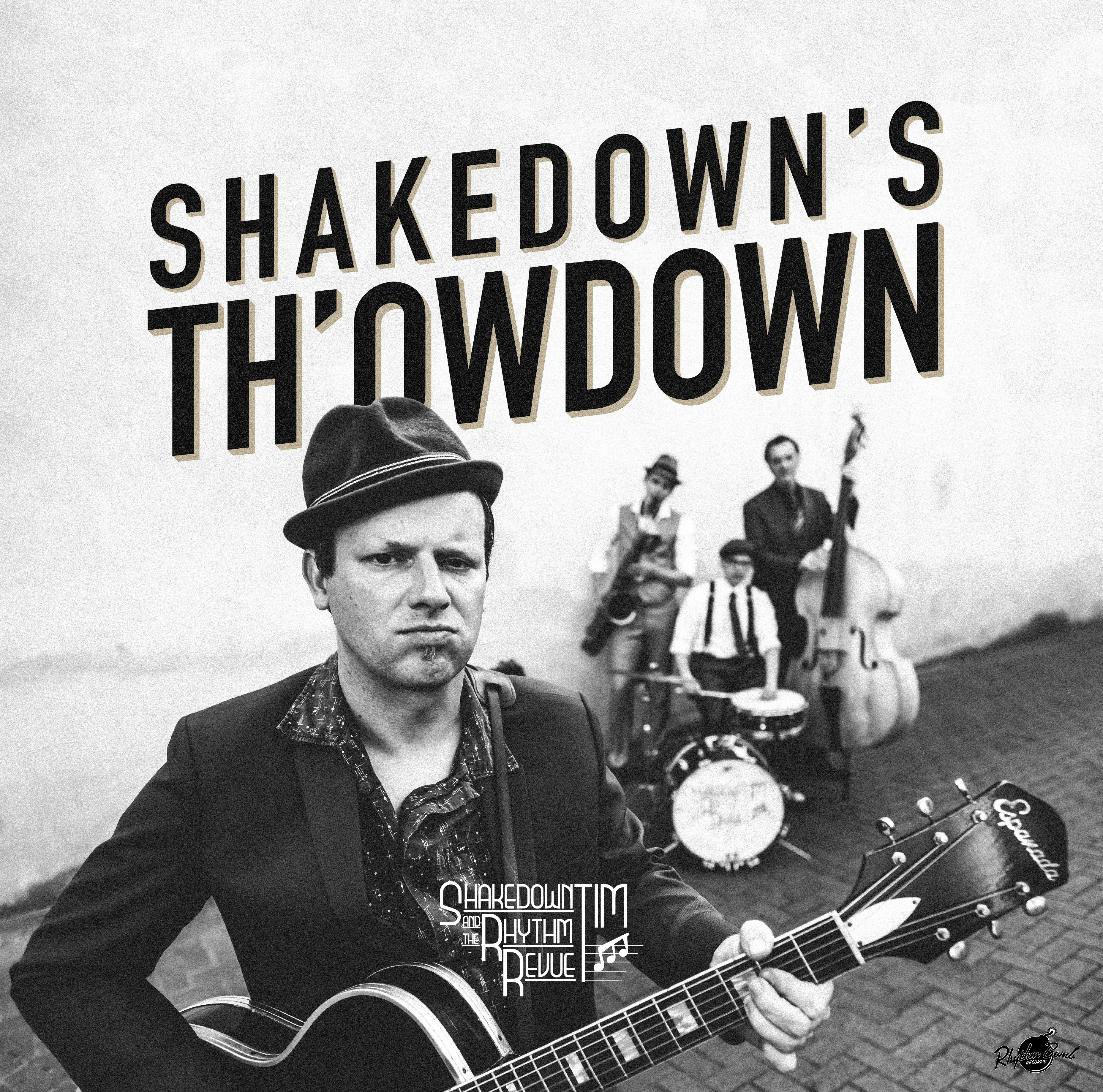 "LP: SHAKEDOWN TIM & THE RHYTHM REVUE ""SHAKEDOWN's TH'OWDOWN"" (2018) 4"