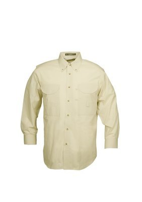 Tiger Hill Men's Fishing Shirt Long Sleeves Sand