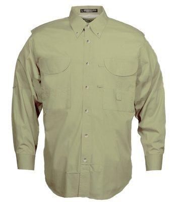 Tiger Hill Men's Fishing Shirt Long Sleeves Sage