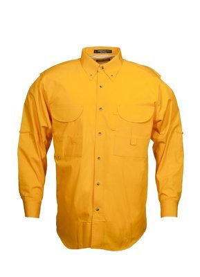 Tiger Hill Men's Fishing Shirt Long Sleeves Tennessee Orange