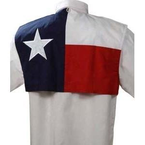 Tiger Hill Texas Flag Fishing Shirt - Long Sleeves