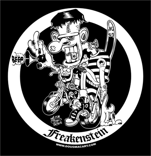 Old Classic! Freakenstein Re Issue T-Shirt 00003