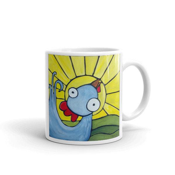 Mr. Good Morning Weirdimal Mug 111234717