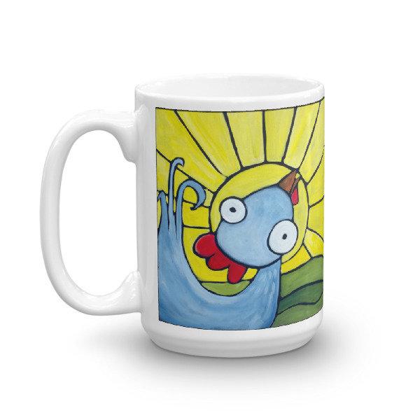 Mr. Good Morning Weirdimal Mug