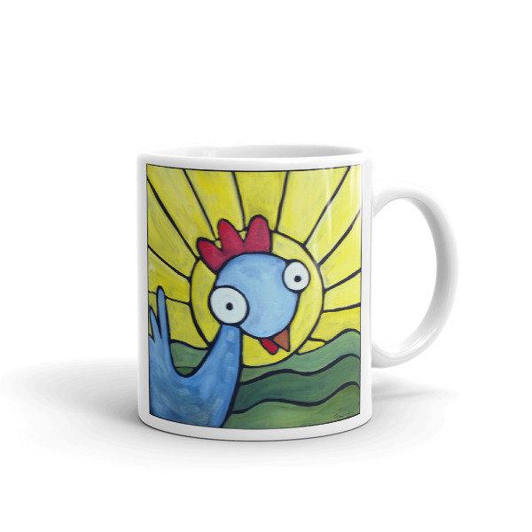 Sunshine Girl Weirdimal Mug 00043