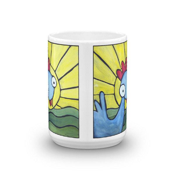 Sunshine Girl Weirdimal Mug