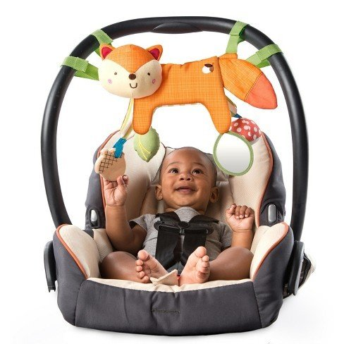 Renard En Balade , Simply Bright Starts - 2-in-1 Foxy Forest Toy Bar