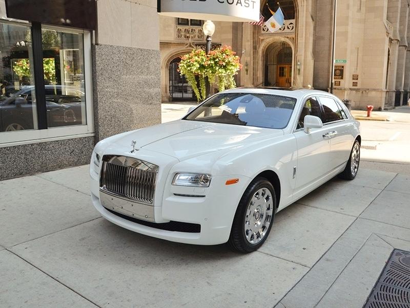 Auto Exotic Rental Houston Rolls Royce Ghost White