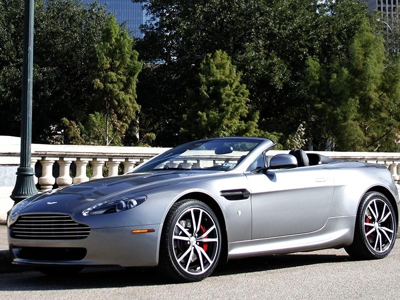 Auto Exotic Rental Houston Aston Martin Vantage Roadster