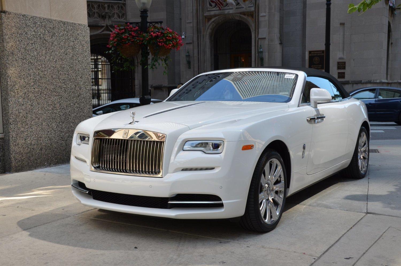 Auto Exotic Rental Houston Rolls Royce Dawn Convertible