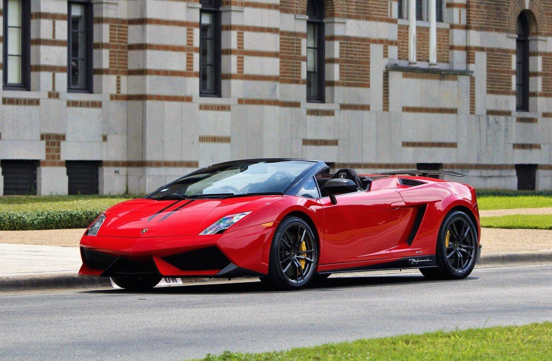 Auto Exotic Rental Houston Lamborghini Gallardo
