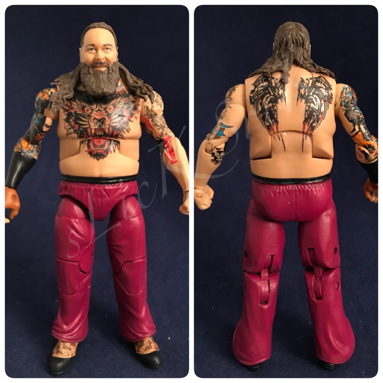 Bray Wyatt: Chest/Back Tattoos