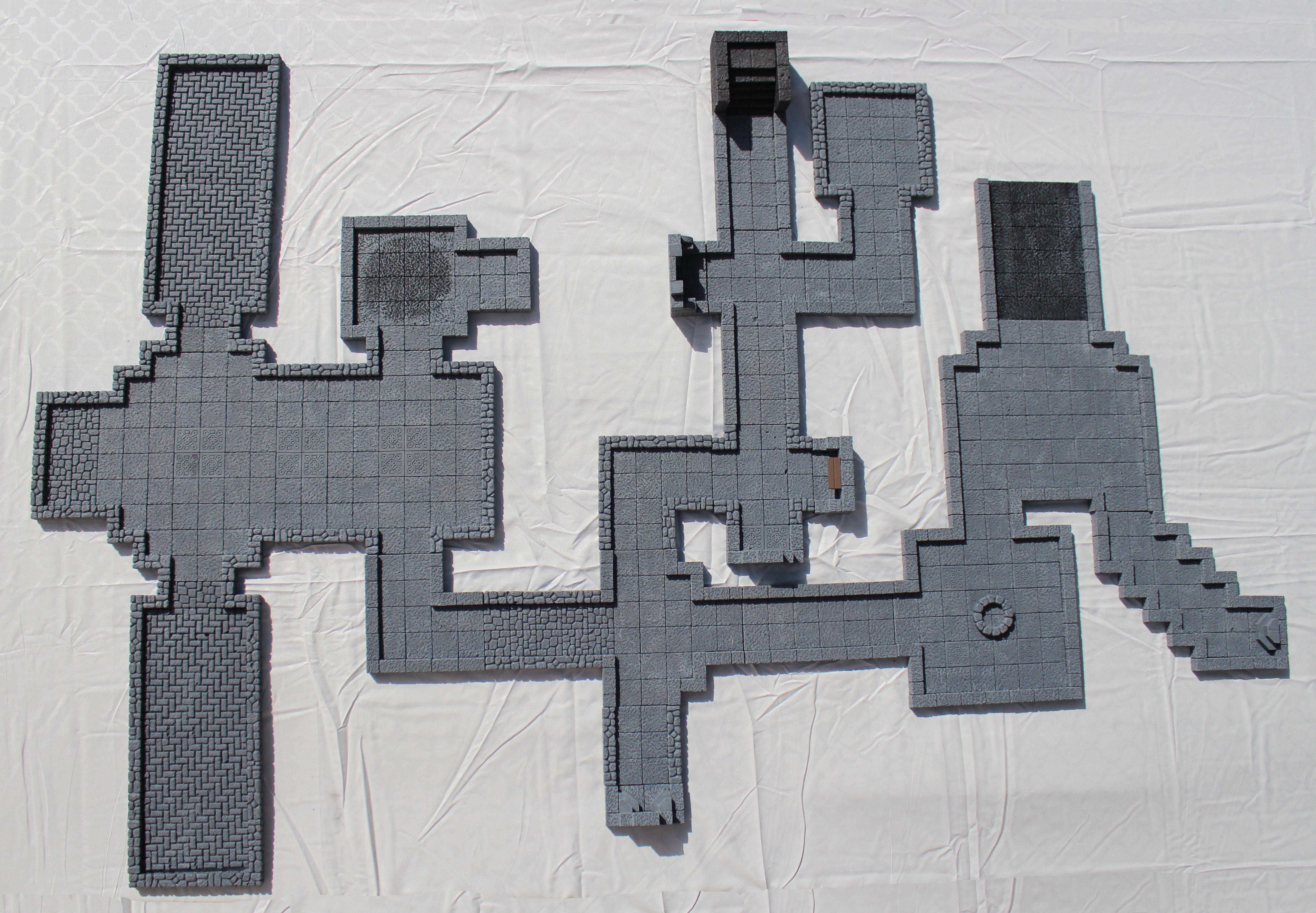 Modular Dungeon (27 Pieces) 4