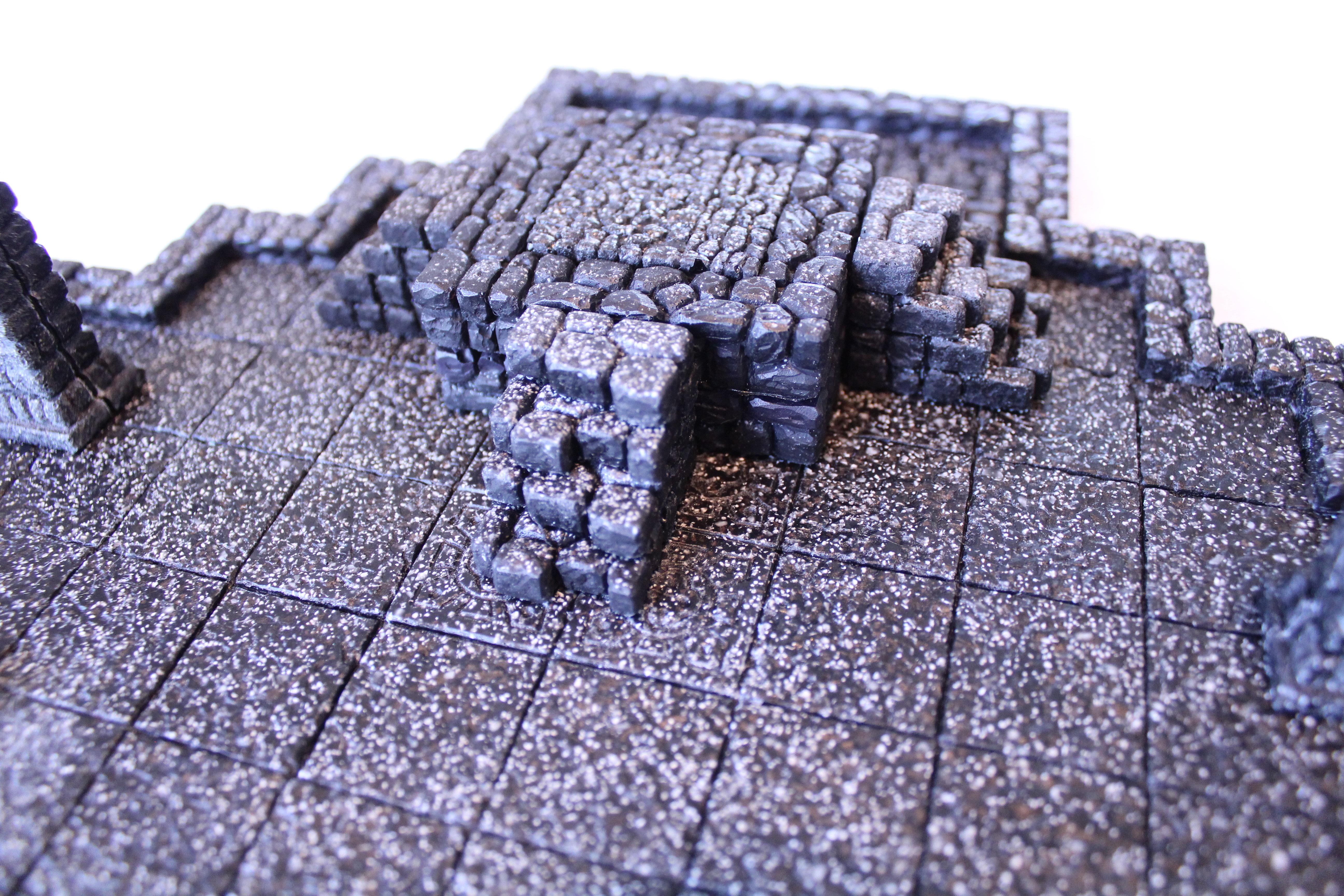 Inner Sanctum Set, Black Granite Resin