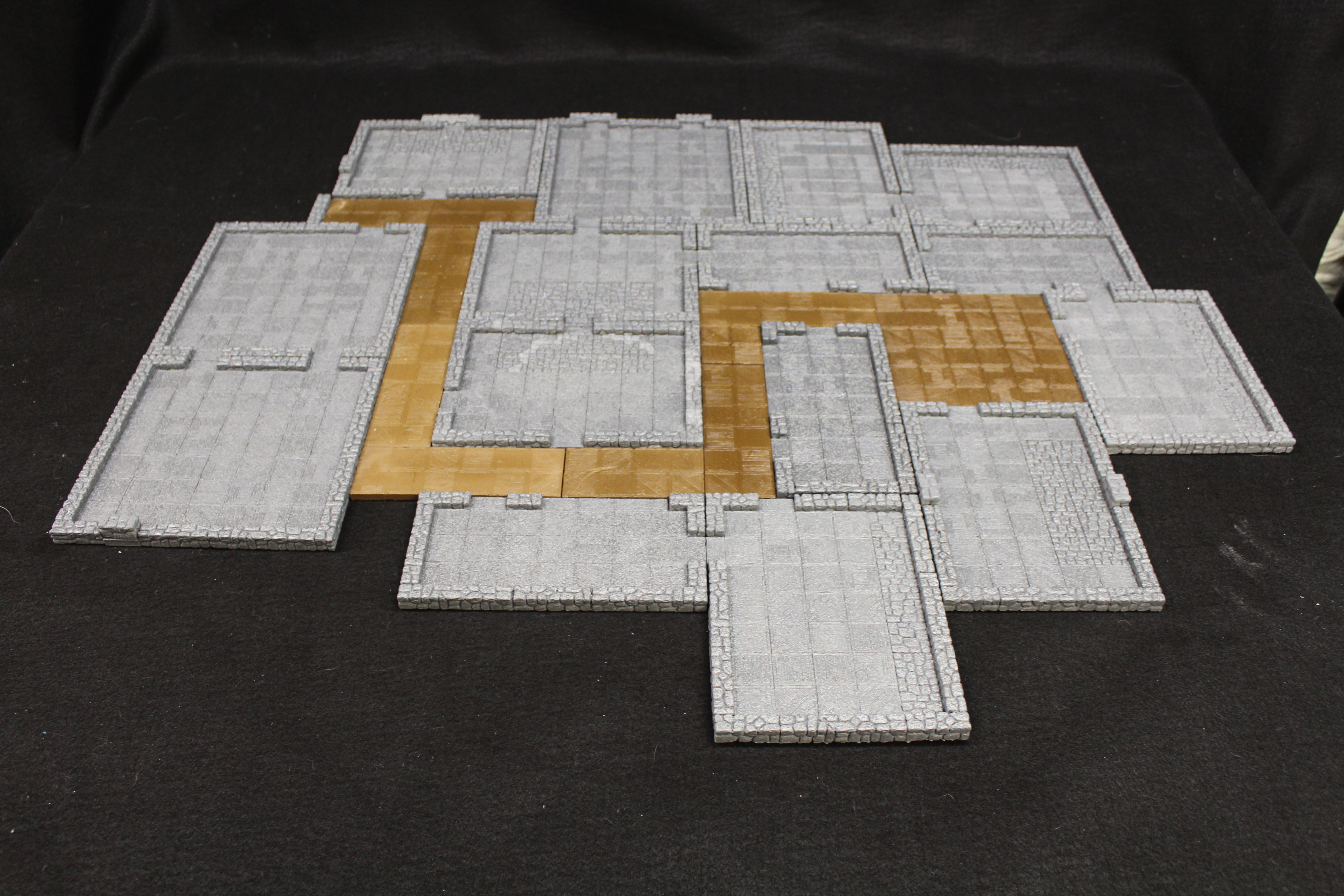 Modular Magnetic Tavern 2.5D Tiles 10