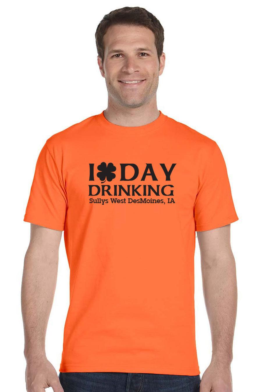 Day Drinking on Orange