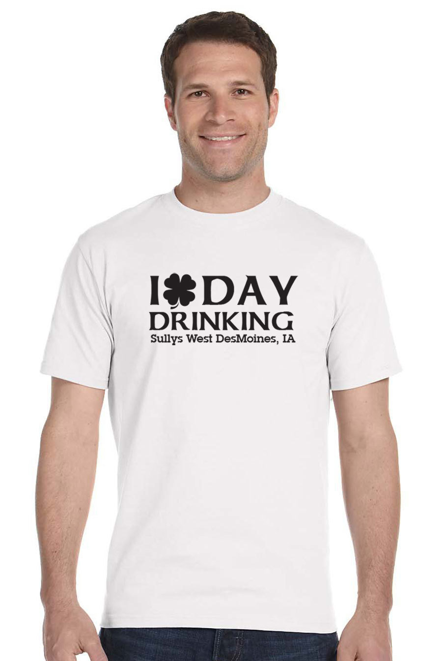Day Drinking on White