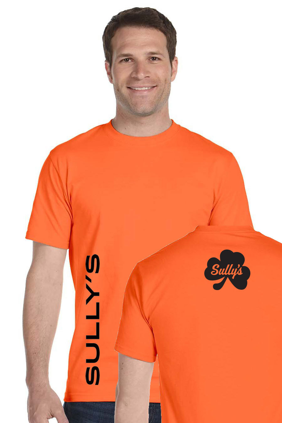 Vertical Sully's - orange