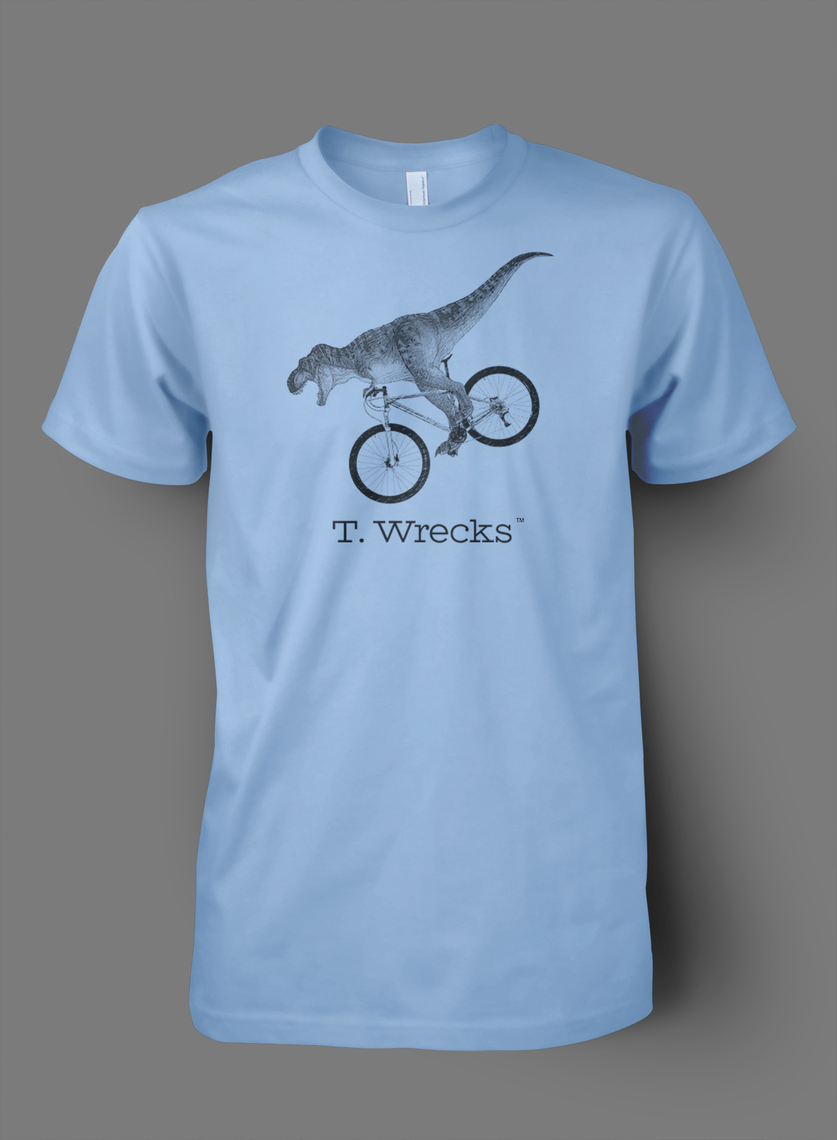 T. Wrecks Tee (Blue) 0000000
