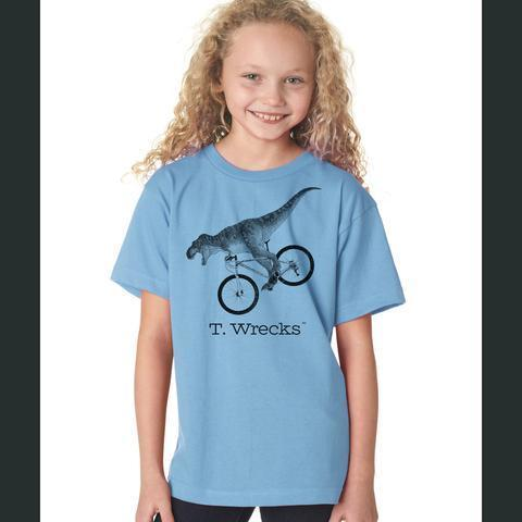 T. Wrecks Kids' Tee (Blue) 0000001
