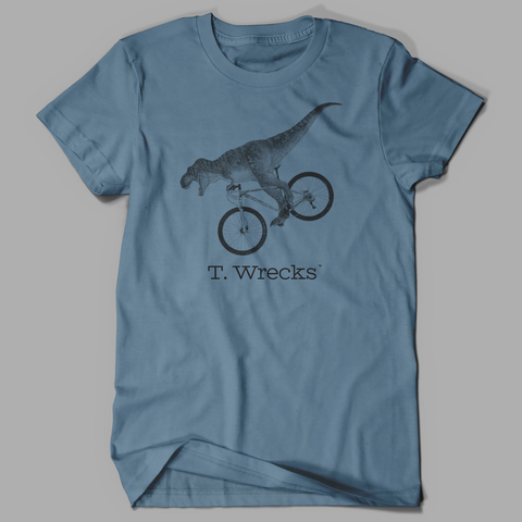 T. Wrecks Tee (Steel Blue) 00001