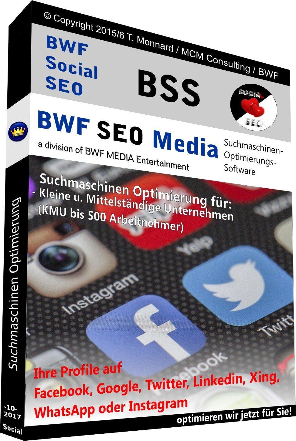 BSS SOCIAL SEO Paket  - (die MwSt in Höhe von € 433,20 ist inklusive)