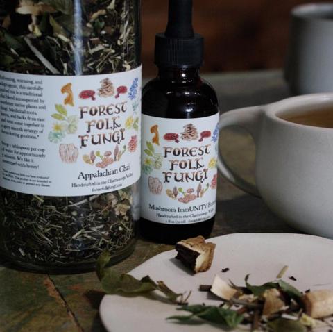 Forest Folk Fungi - Teas - Appalachian Chai - 16 oz FUNG_CHAI_TEA