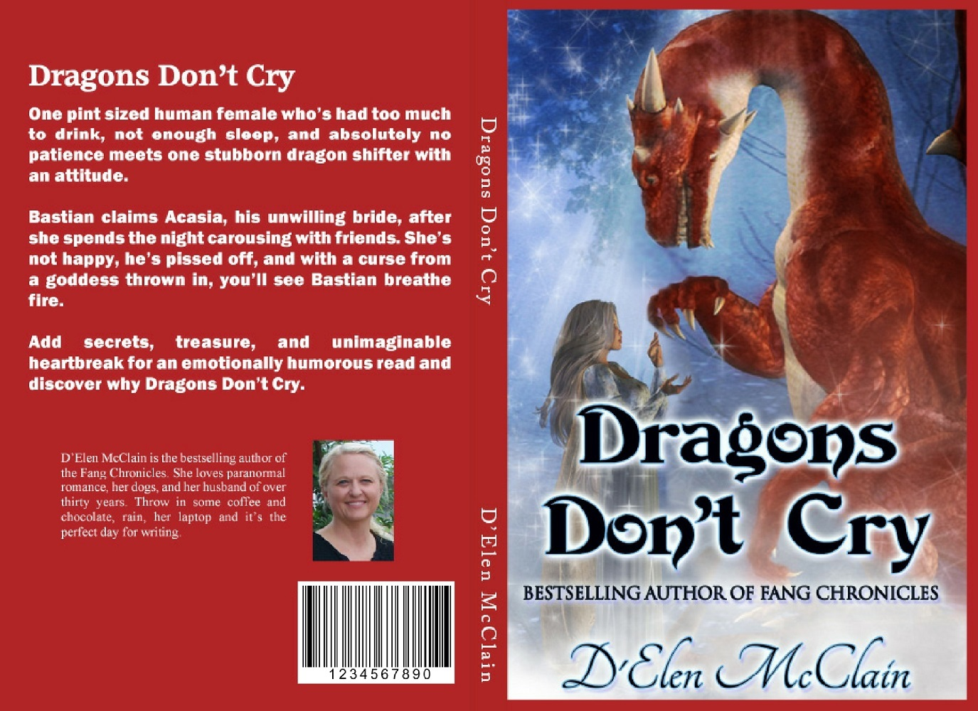 "Autographed Dragon Book (price Includes shipping) *Click ""Buy Now"" and choose book title 9285510005"
