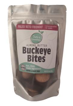 Almond Butter Buckeye Bites