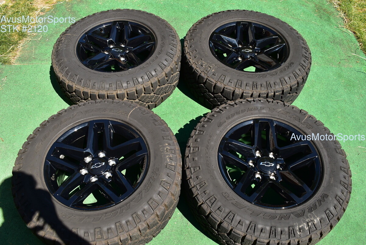 "18"" Chevrolet SILVERADO 1500 Trail Boss OEM FACTORY WHEELS ..."