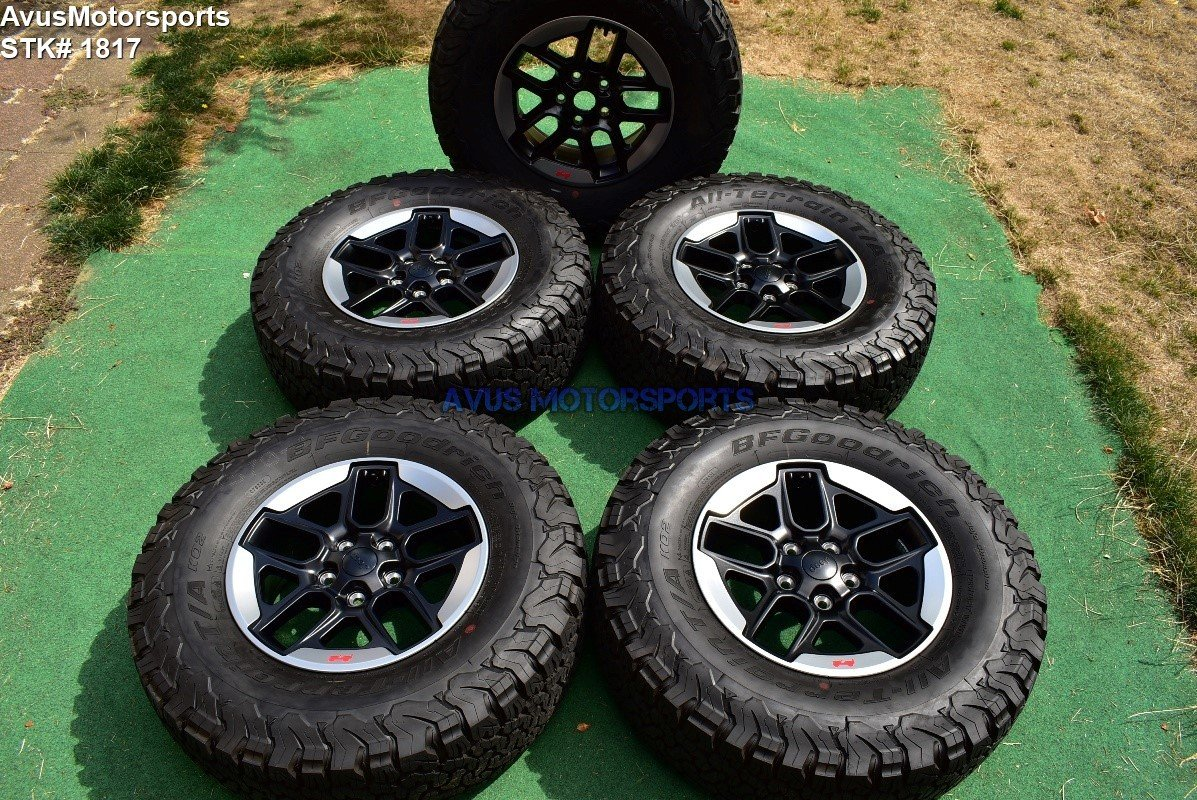 17 U0026quot  Jeep Wrangler Rubicon 2018 Oem Factory Wheels