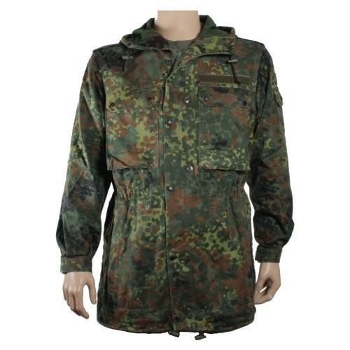 German Army Genuine Unlined Camouflage Flecktarn Parka