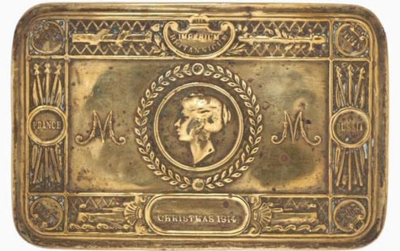 British Army Genuine Ww1 Princess Mary 1914 Christmas Tin