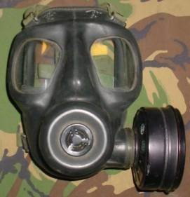 British Army Used Genuine S6 Gas Masks And Filters