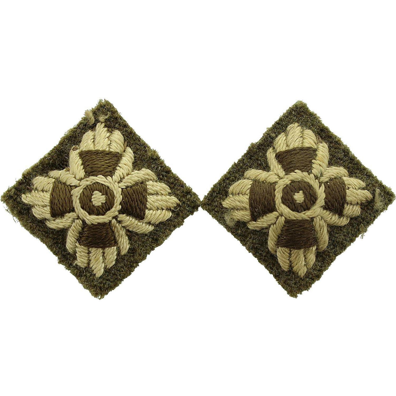 Ww2 British Army Genuine Officers Insignia Pips