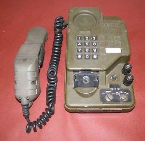 British Army Genuine Ex Mod Field Telephone Ptc 414