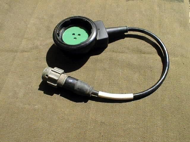 British Army Genuine Used Clansman Respirator Microphone