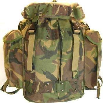 Dutch Army Genuine Dpm Cordura Patrol Backpacks Rucksacks 35l