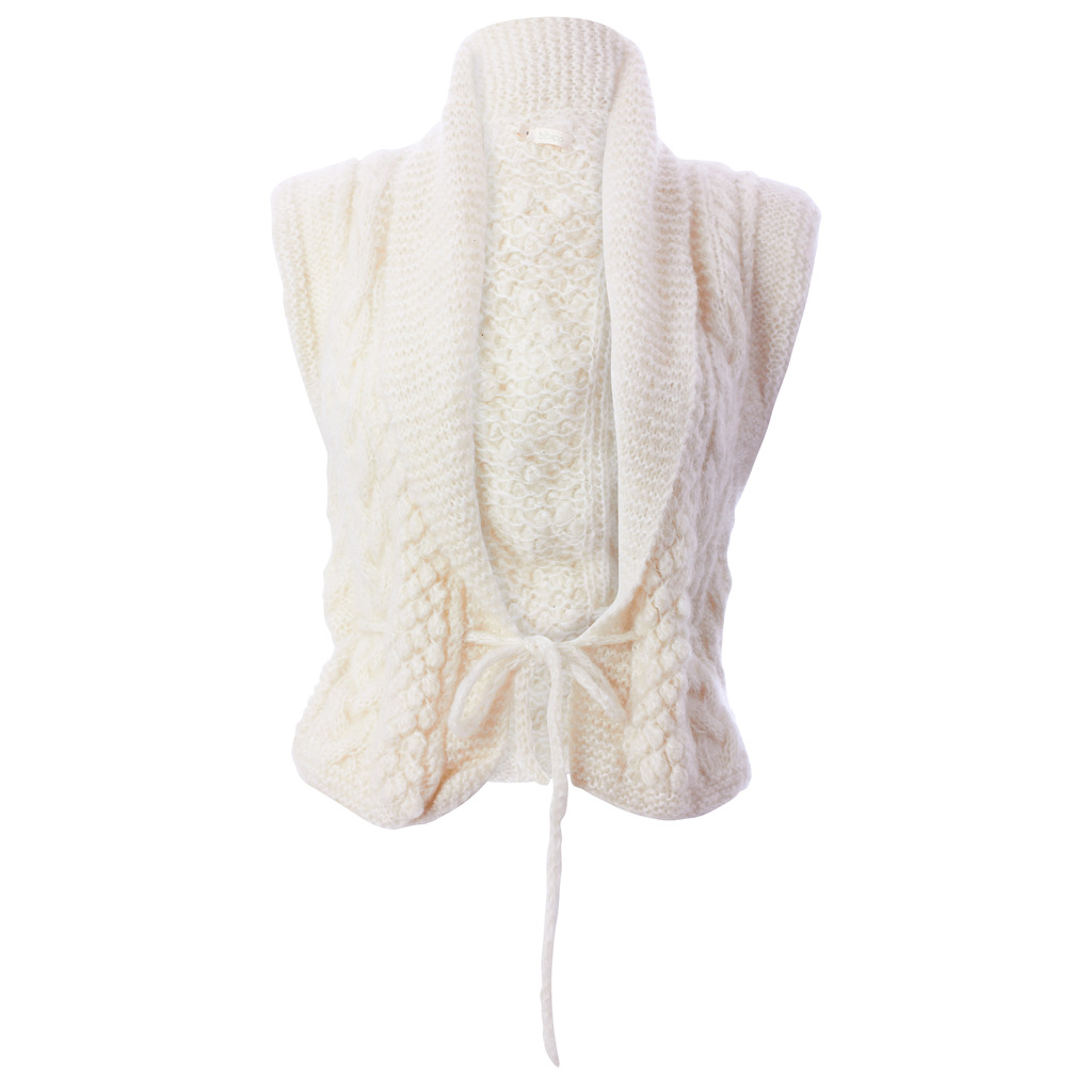 00f3317247 Mohair Drawstring Waistcoat (bibico)