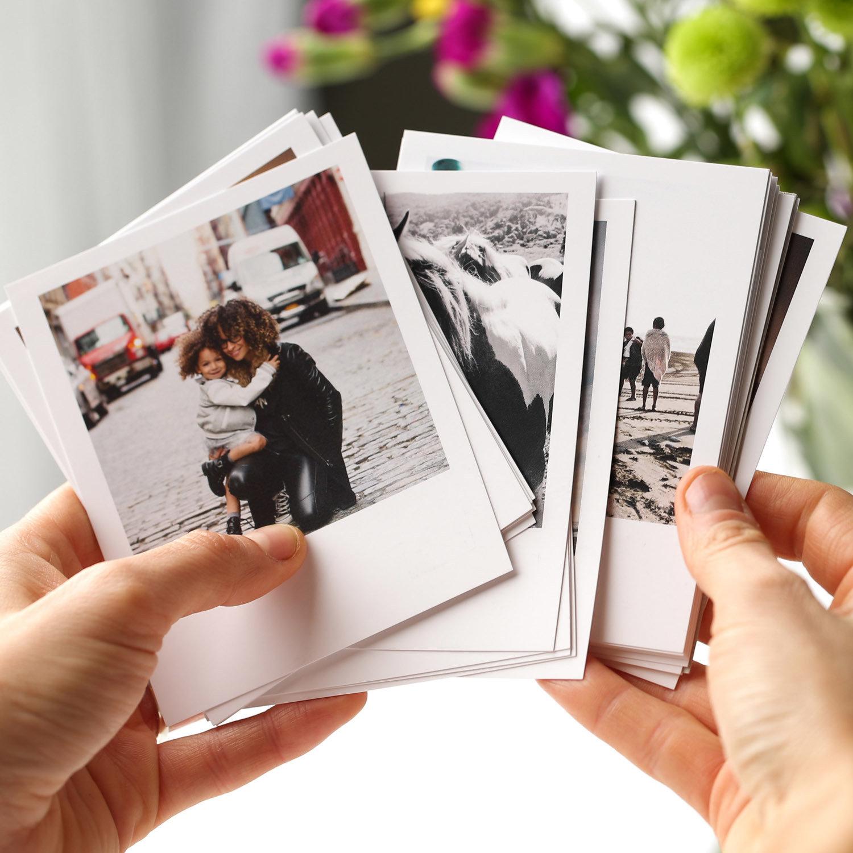 Печать фотографий с белыми полями сюрприз
