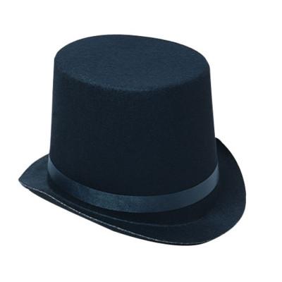 4bb596b6c2335 Black Felt TOP HAT toys gifts prizes kids magic costume 4