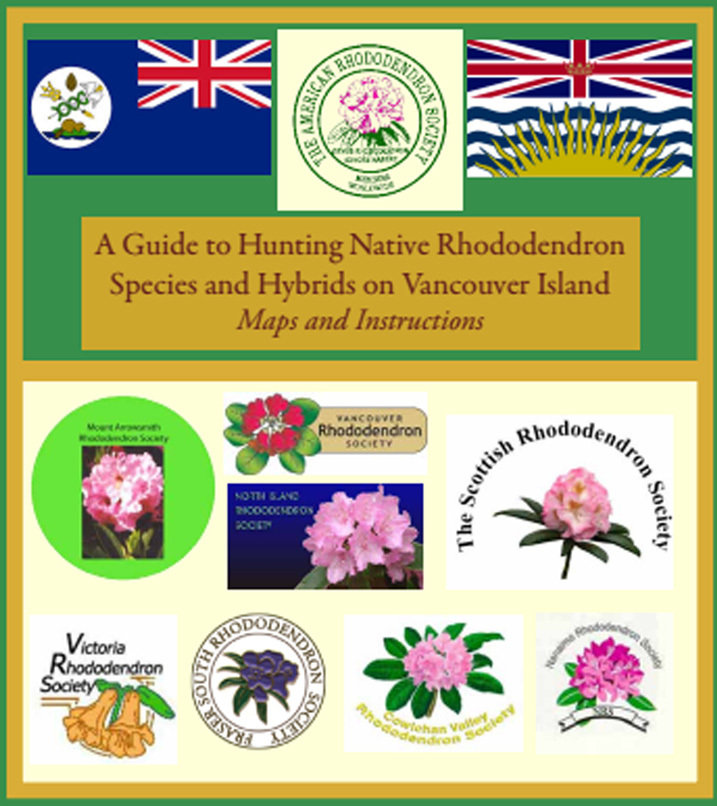 A Guide to Hunting Native Rhododendrons Map