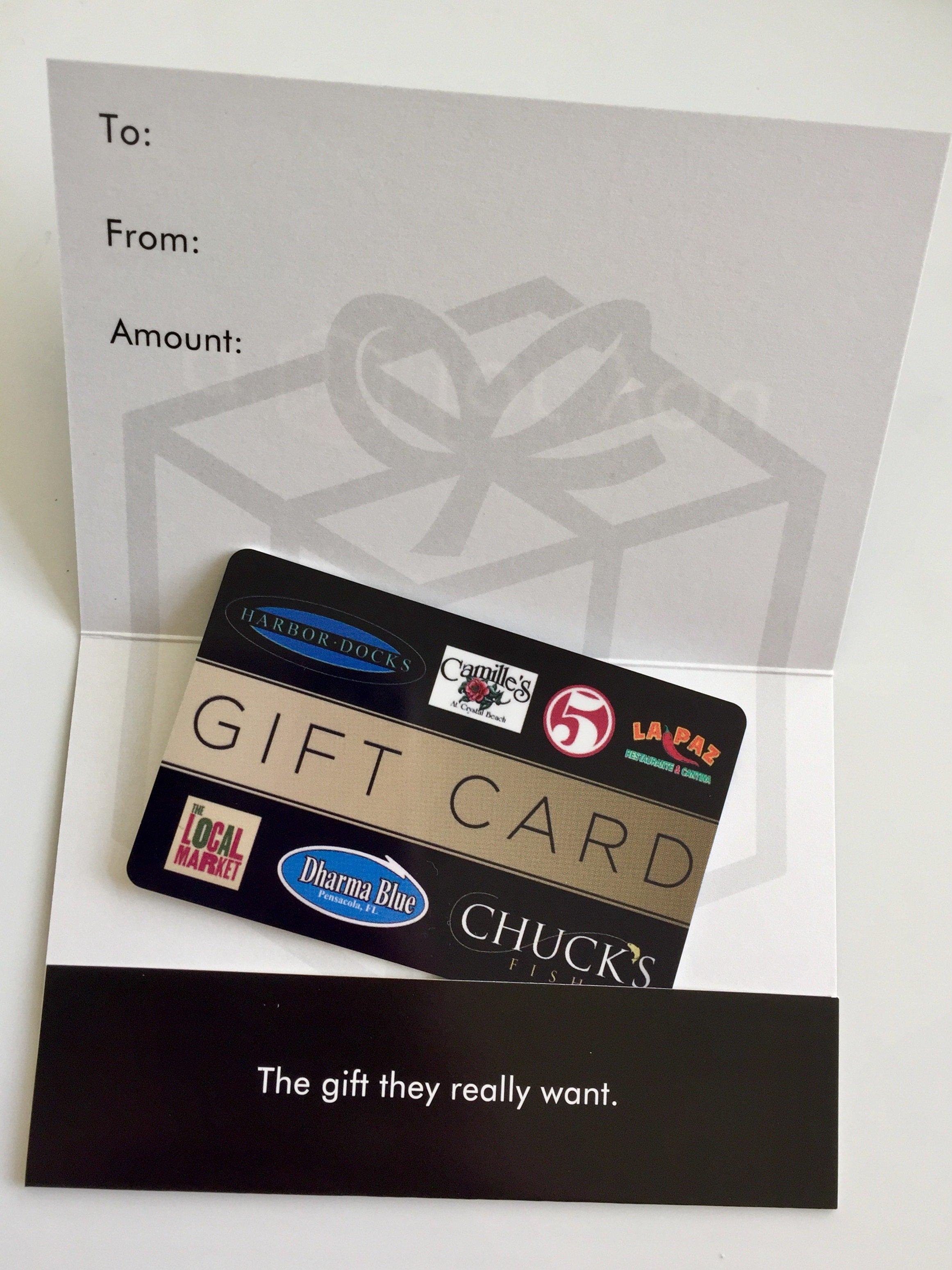 Gift Card & Sleeve