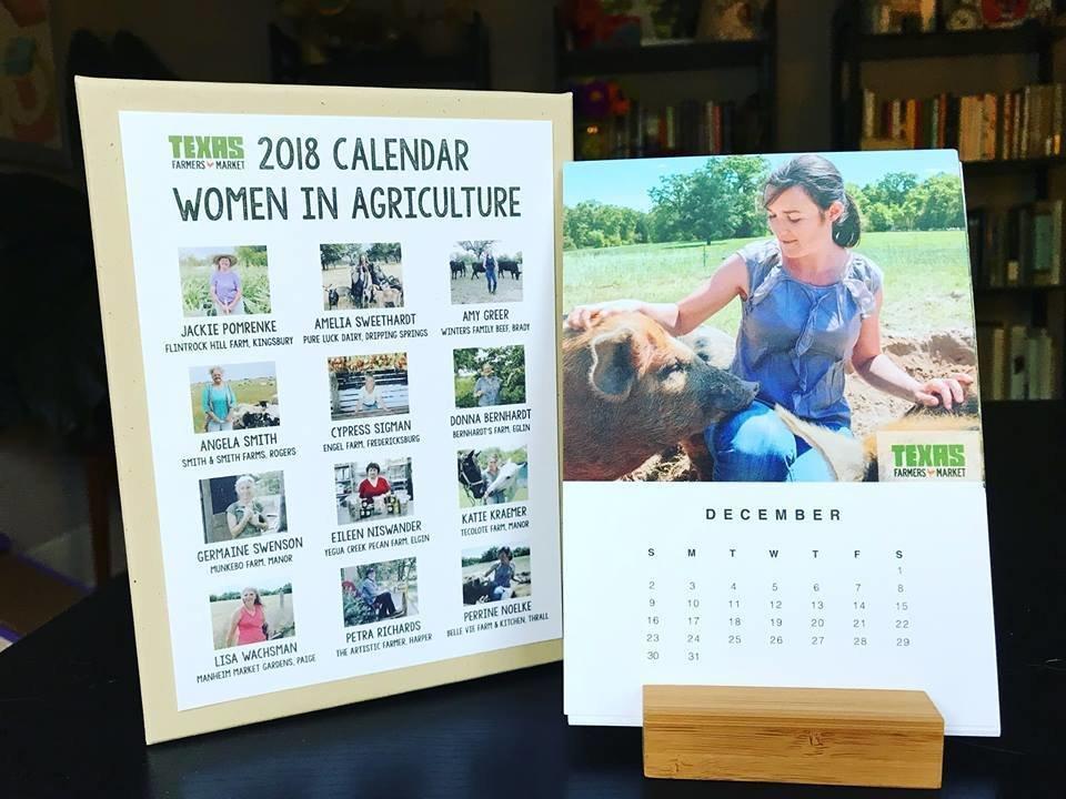 Women in Ag desk calendar