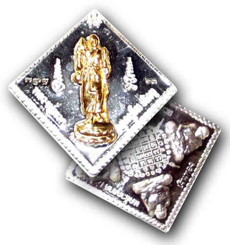Luang Por Tuad coin amulet